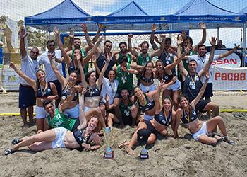 Seleção A Feminina e Masculina de Andebol de Praia - Torneio Canárias Cup - 1º Lugar