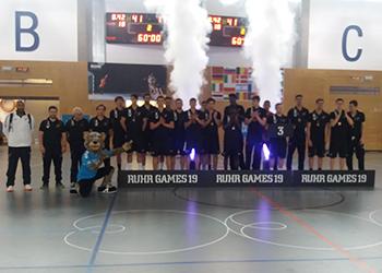 Seleção Sub-17 Masculina - Torneio Ruhr Games 2019 - 3º Lugar