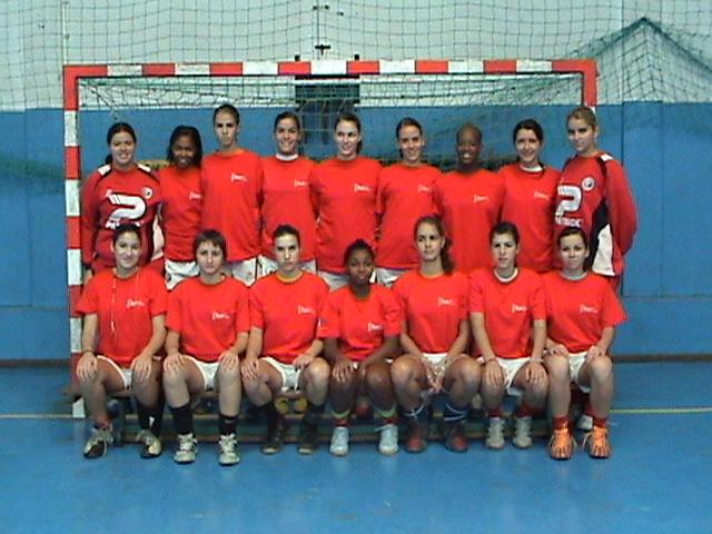 Selecção Junior B Feminina 2007/08