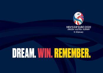 Logo Campeonato da Europa Seniores Masculinos 2020
