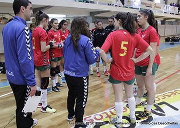 I Torneio das Descobertas - Gil Eanes x Seleção Sub-16 Feminina - 3ª Jornada