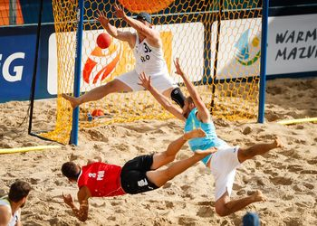 Europeu de Andebol de Praia 2019 – Eslovénia : Portugal – Masculinos – Foto: Uros Hocevar/EHF