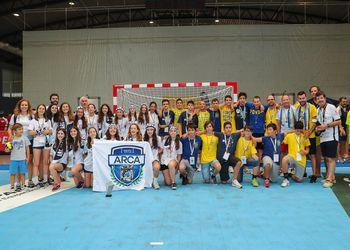 ARC Alpendorada e Póvoa AC/Bodegão - vencedores Encontro Nacional de Infantis Portimão 2019