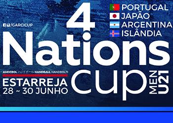 Cartaz 4 Nations Cup - Estarreja - Junho 2019