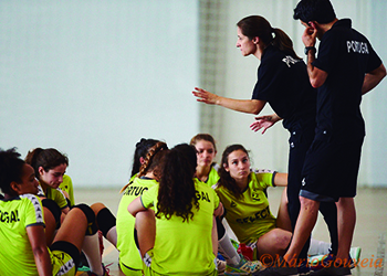 Seleção Sub-19 Feminina - Estágio em Espinho