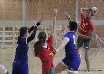 Seleção Nacional Sub-15 Feminina : Seleção Nacional Grã-Bretanha - II Torneio das Descobertas - foto: Luís Neves