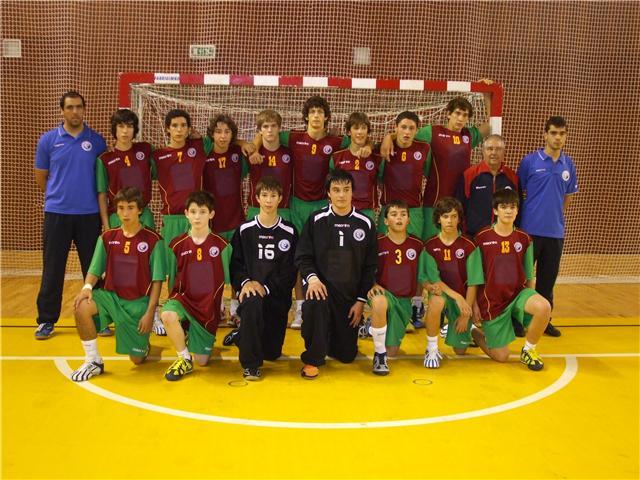 Selecção Nacional Junior D Masculina 2008-2009