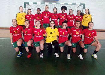 Seleção Nacional Junior A Feminina 2016-2017