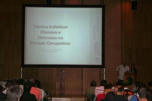 Acção Formação Orientações Técnicas - Europarque 29.06.08 - Treinadores - Intervenção de Rolando Freitas