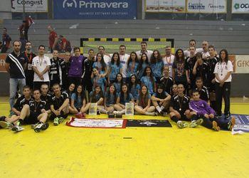 ARC Alpendorada e AA Águas Santas com Diana Oliveira, Fábio Vidrago e Humberto Gomes - vencedores do Encontro Nacional de Infantis 2016