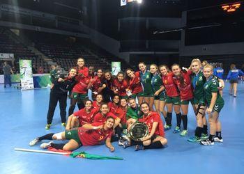 Portugal sagra-se Campeão Europeu de Sub17 Femininos Divisão B