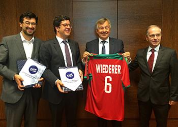 Reunião Comissão Executiva EHF