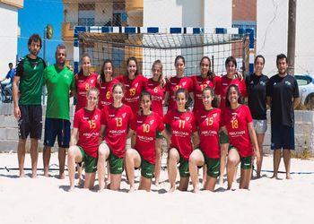 Seleção Nacional Andebol Praia Sub-17 Feminina