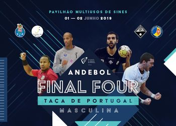 Cartaz - Final Four Taça de Portugal Masculina 2018/ 2019