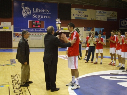 Taça Presidente da República: SL Benfica vencedor