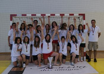 Valongo do Vouga - Campeão Nacional de Iniciados Femininos da 1ª Divisão 2010-2011