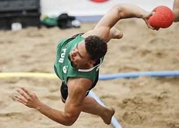 Europeu de Andebol de Praia 2019 – Portugal : Dinamarca – Masculinos – Foto: Uros Hocevar/EHF