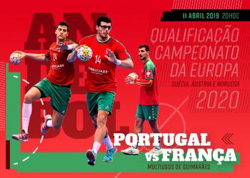 Cartaz Portugal : França - qualificação Campeonato da Europa 2020