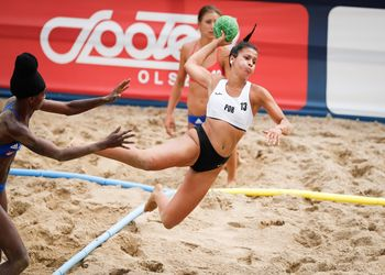 Europeu de Andebol de Praia 2019 – França : Portugal – Femininos – Foto: Uros Hocevar/EHF