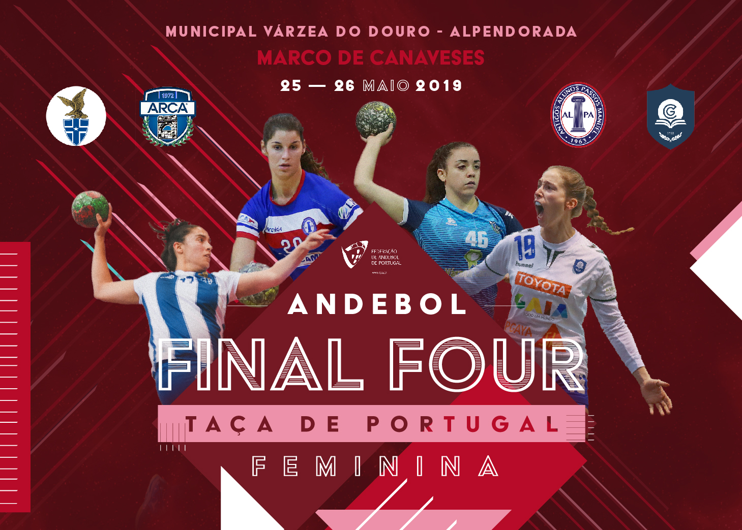 Cartaz Final Four Taça de Portugal Seniores Femininos 2018-2019