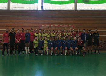 Seleção Nacional Sub-19 Feminina - jogo treino com o JAC-Alcanena - Rio Maior, 24.03.2019
