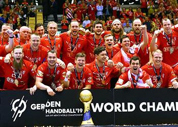 Dinamarca Campeã do Mundo - Campeonato do Mundo Seniores Masculinos 2019 - Foto: IHF