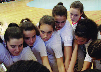 Seleção Nacional Sub-15 Feminina : SL Benfica - II Torneio das Descobertas - Foto: Luís Neves