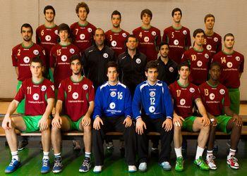 Seleção Nacional Junior A masculina 2012-13