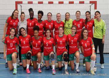 Seleção Nacional Sub-17 Femininas - Garcicup - foto: Luís Neves