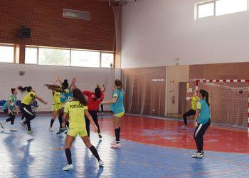 Treino Seleção Nacional Junior A Feminina