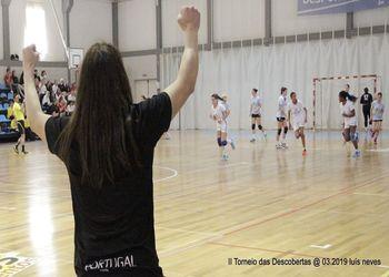 Seleção Nacional Sub-15 Feminina - II Torneio das Descobertas - foto: Luís Neves