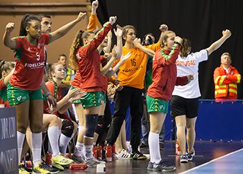 Portugal : Chile - Mundial Sub20 Femininos - foto: IHF/Anikó Kovács