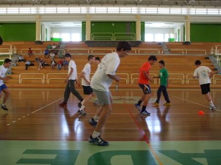 Estágio Final - Selecção Detecção Talentos Masculinos - Rio Maior 4