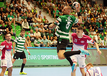 Velux EHF Champions League - Sporting CP x HC Motor Zaporozhye - César Santos