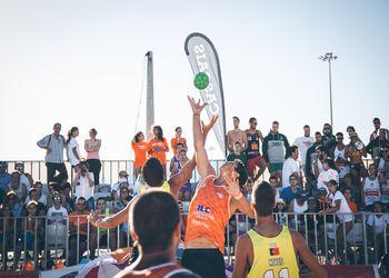 Fase Final do Circuito Nacional de Andebol de Praia ActivoBank - 1º Dia - foto: Márcio Menino