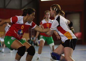 Portugal : Alemanha - Juniores A femininas - Torneio 4 Nações