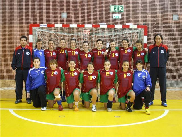 Selecção Nacional Junior C Feminina 2008-2009