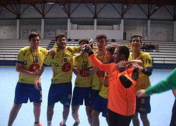 Xico Andebol - vencedor da Fase Final da 2ª Divisão do Campeonato Regional do Norte de Andebol-5 ANDDI
