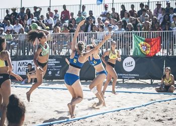 Campeonato da Europa Andebol Praia Sub-16 Nazaré 2016 - Femininos