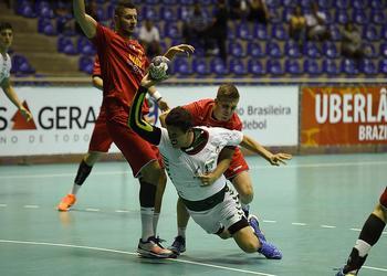 Ataque de Portugal no jogo Portugal-Roménia- Sub21  Brasil