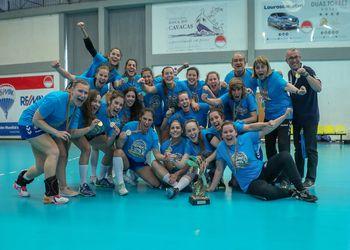 Colégio de Gaia/Toyota - Campeão Nacional 1ª Divisão Feminina 2018/2019 - foto: PhotoReport.In