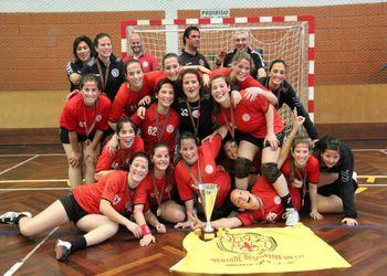 Juve - campeã nacional de Juniores Femininos 2013-14 - foto: António Oliveira
