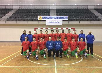 Seleção Nacional Juniores C Masculinos - Torneio Avilés