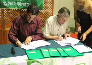 Assinatura Protocolo Andebol 4 Kids - SIR 1º Maio, Marinha Grande