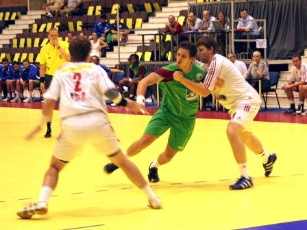 Campeonato Europeu Sub20 Masculino Roménia 2008 - República Checa : Portugal - Tiago Pereira