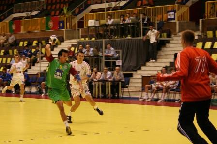 Campeonato Europeu Sub20 Masculino Roménia 2008 - República Checa : Portugal - João Pais