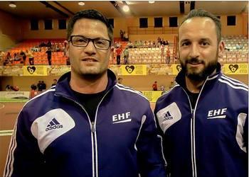 Arbitros - Daniel Martins e Roberto Martins (ao baixo)