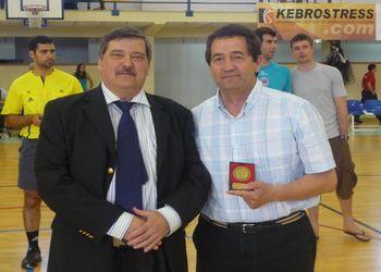 6ª Taça Presidente da República - Final - Rui Coelho (Federação) e Jorge Andrade (AA Santarém)