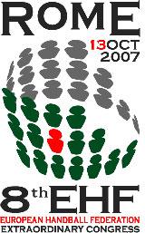 Logo 8 Conferência Presidentes e Congresso EHF
