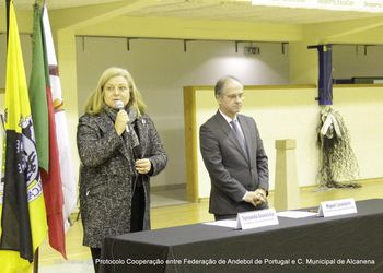 Cerimónia de assinatura do Protocolo de Cooperação FAP e CM Alcanena- Foto: Luís Neves